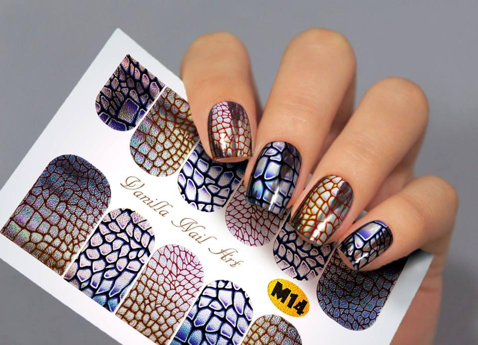 Slaider Vanilla Nail Art M14 | Lakkstore.com