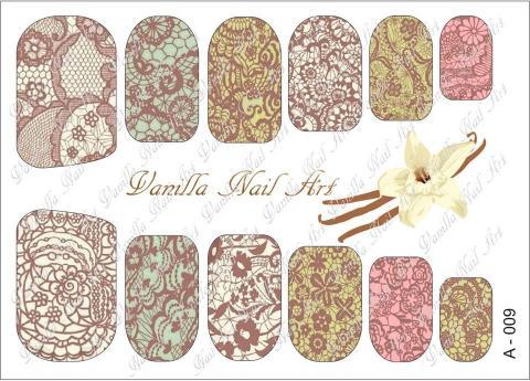 Slaider Vanilla Nail Art 009