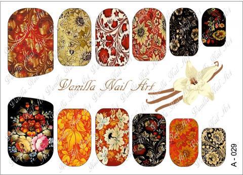 Slaider Vanilla Nail Art 029