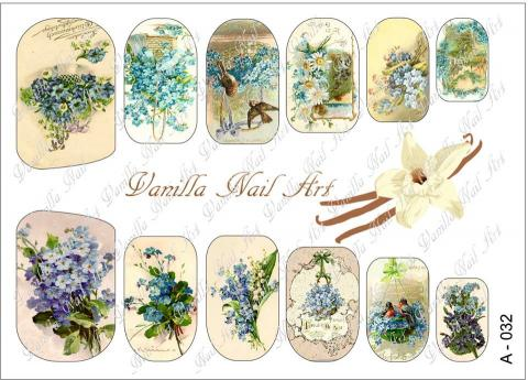 Slaider Vanilla Nail Art 032