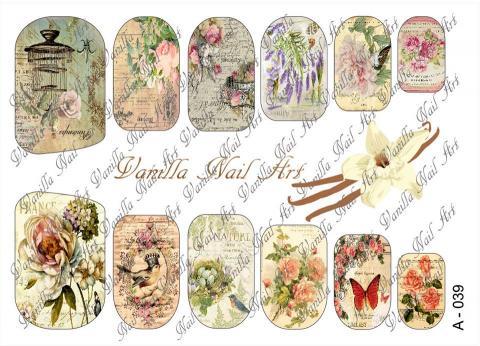 Slaider Vanilla Nail Art 039