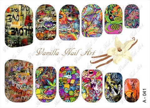 Slaider Vanilla Nail Art 041