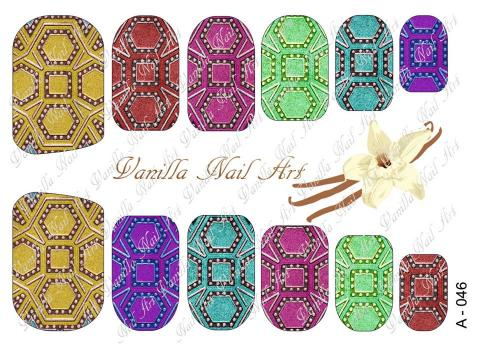 Slaider Vanilla Nail Art 046