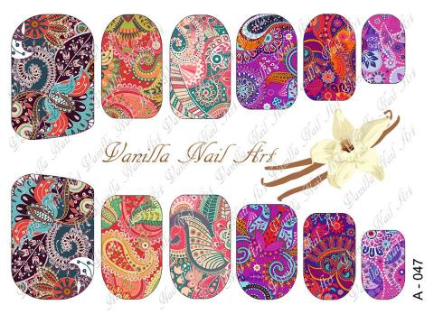 Slaider Vanilla Nail Art 047