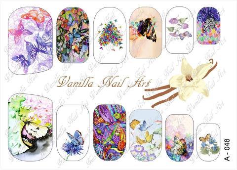 Slaider Vanilla Nail Art 048