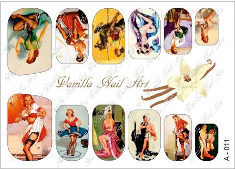 Slaider Vanilla Nail Art 011
