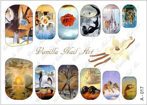 Slaider Vanilla Nail Art 017
