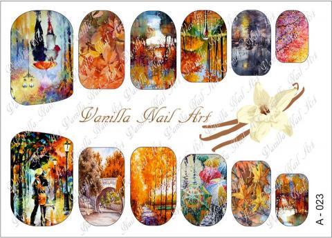 Slaider Vanilla Nail Art 023