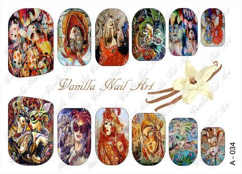 Slaider Vanilla Nail Art 034
