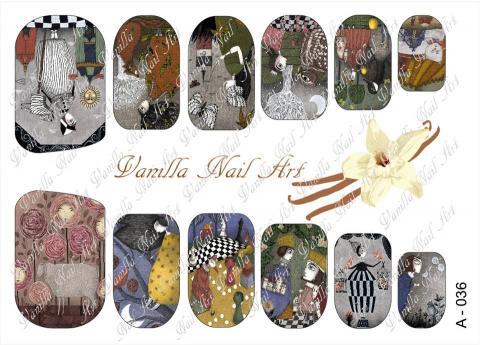 Slaider Vanilla Nail Art 036