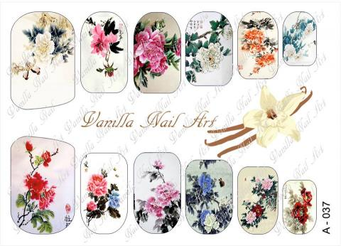 Slaider Vanilla Nail Art 037