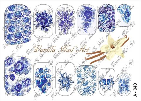 Slaider Vanilla Nail Art 040