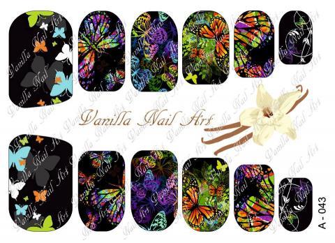Slaider Vanilla Nail Art 043