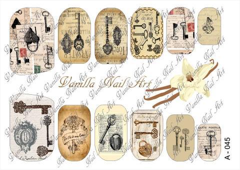 Slaider Vanilla Nail Art 045